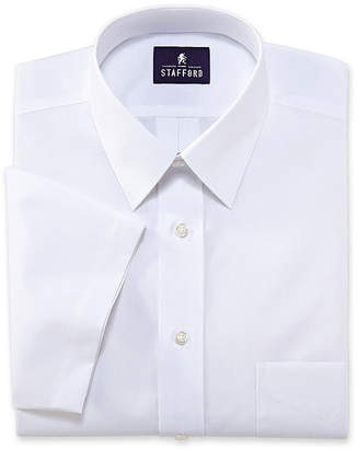 STAFFORD Stafford Travel Short-Sleeve Performance Super Shirt - Big & Tall