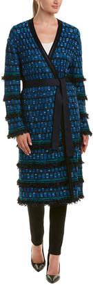 St. John Wool-Blend Coat