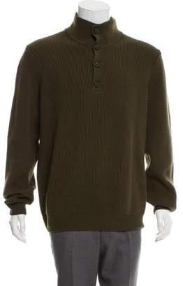 Hermes Wool Mock Neck Sweater w/ Tags