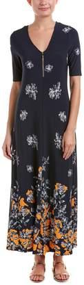Chaus Womens Maxi Dress, M, Blue