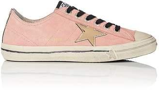 Golden Goose Women's V-Star 2 Suede Sneakers