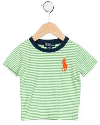 Polo Ralph Lauren Boys' Striped Logo T-Shirt