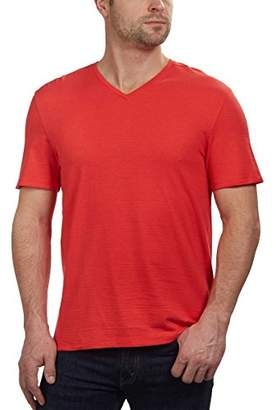 Calvin Klein Men's Short Sleeve V-Neck Cotton T-Shirt