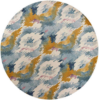 Asstd National Brand Reina Illusion Round Rugs