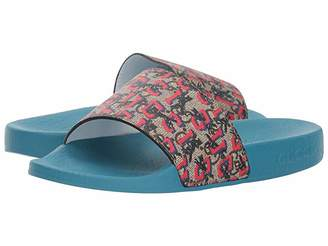 Gucci Kids GG Supreme Pursuit Slide (Little Kid)