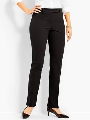 Talbots Bi-Stretch High-Waist Straight-Leg Pant-Curvy Fit