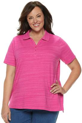 5149422974199 Croft   Barrow Pink Plus Size Tops on Sale - ShopStyle