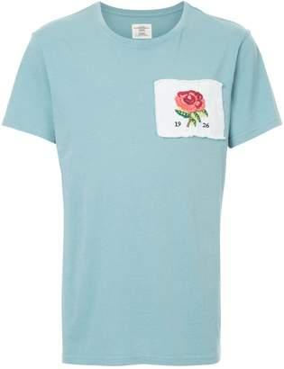 Kent & Curwen rose patch T-shirt