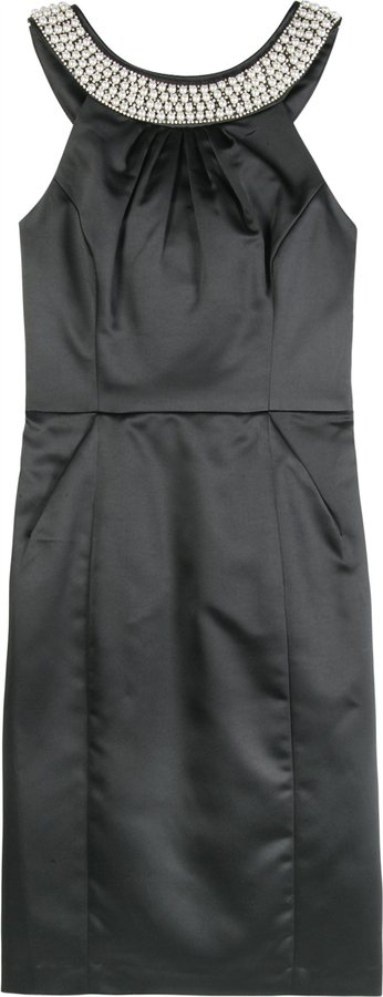 Milly Black Candy Cocktail Dress