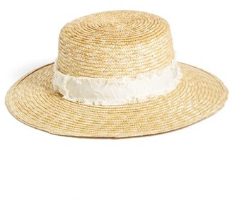 rag & bone 'Laurie' Straw Hat $225 thestylecure.com