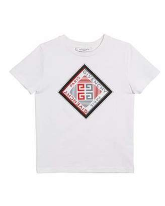Givenchy Boy's Short-Sleeve Logo Graphic Tee, Size 12-14