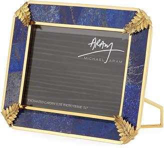 Michael Aram Enchanted Garden Lapis Picture Picture Frame, 5 x 7