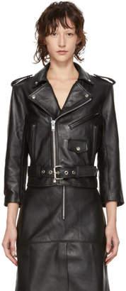 Markoo Black Leather The Moto Jacket