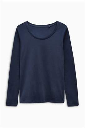 Next Womens Black Long Sleeve Top