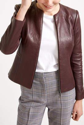 Sportscraft Merlot Leather Jacket