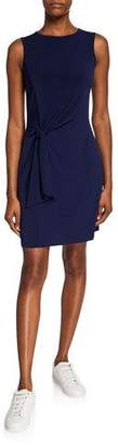 MICHAEL Michael Kors Crewneck Sleeveless Tie-Waist Jersey Dress