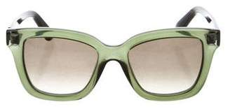 Valentino Resin Tinted Sunglasses