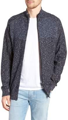 Rodd & Gunn Banks Road Colorblocked Zip Sweater