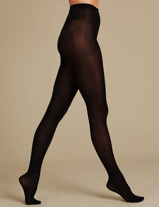 f0b53fe92f36c M&S CollectionMarks and Spencer 6 Pair Pack Body Sensor Opaque Tights