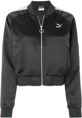 Puma cropped bomber jacket