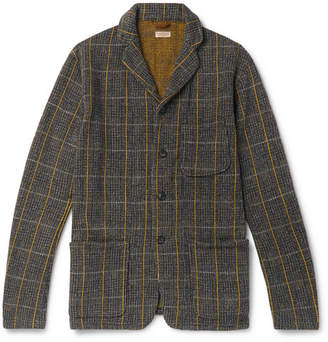 KAPITAL Fleece-Back Cotton-Blend Tweed Jacket