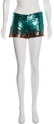 Haute Hippie Sequin Mini Short w/ Tags