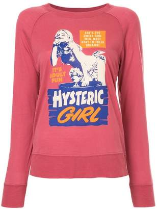 Hysteric Glamour digital print long sleeve shirt