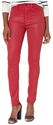 Joe's Jeans The Charlie Ankle Cut Hem in Cerise
