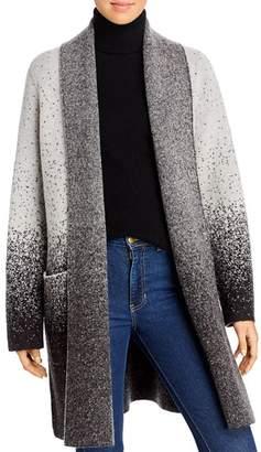Donna Karan Ombré Flyaway Sweater Coat
