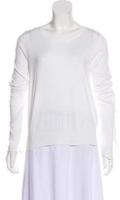 White + Warren Lace-Up Knit Sweater w/ Tags
