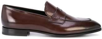 Prada logo embossed loafers