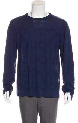 Versace Greca Wool Sweater