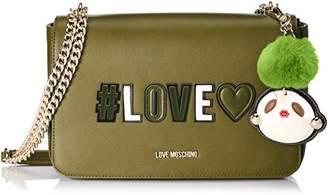 Love Moschino Borsa Pu, Women's Satchel,6x18x29 cm (B x H T)
