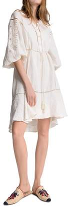 Max Studio Linen And Cotton Dress