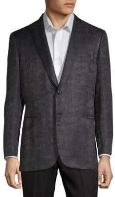 Brioni Textured Notch Jacket