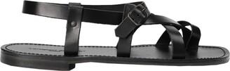 L'Artigiano DEL CUOIO Toe strap sandals