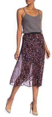 Nic+Zoe Confetti Pleated Midi Skirt
