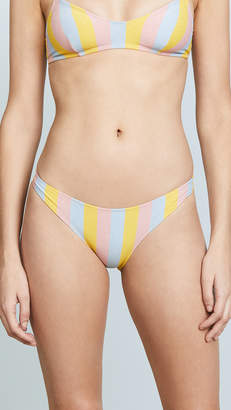 Solid & Striped Rachel Maui Shimmer Bikini Bottoms