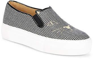 Charlotte Olympia Leopard-Print Platform Sneakers