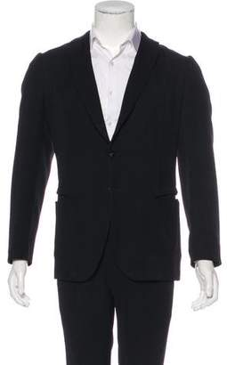 Bottega Veneta Three-Button Deconstructed Blazer