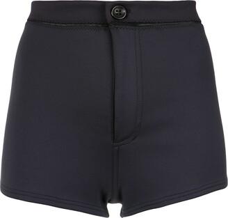 AMIR SLAMA high waisted shorts