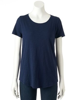 Women's SONOMA Goods for LifeTM Essential Print Tee $16 thestylecure.com
