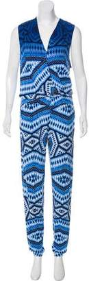 Tart Printed Sleeveless Jumpsuit