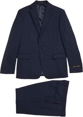 Michael Kors Plaid Wool Suit