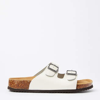 Roots Womens Natural 2-Strap Sandal