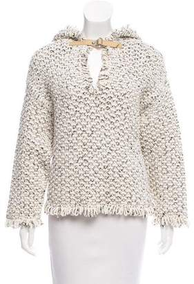 Maison Ullens Hooded Knit Sweater