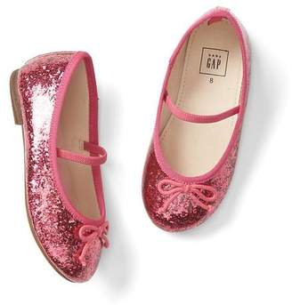 Gap Glitter mary janes