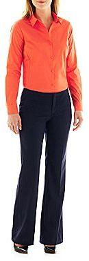 JCPenney Worthington® Long-Sleeve Shirt or Pinstripe Trouser Pants