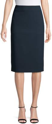 HUGO Ribbed Pencil Skirt