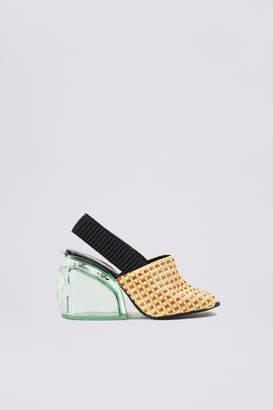 3.1 Phillip Lim Plexi Heel Slingback Sandal